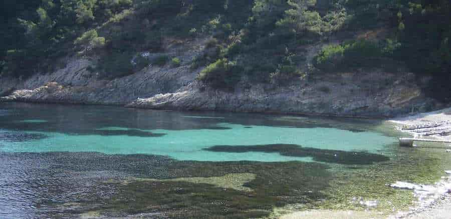 Yacht charter in Llentrisca Cove, Ibiza, Balearic Islands