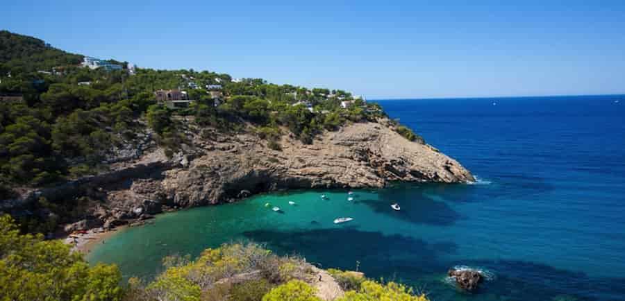 Yacht charter in Moli Cove, Ibiza, Balearic Islands