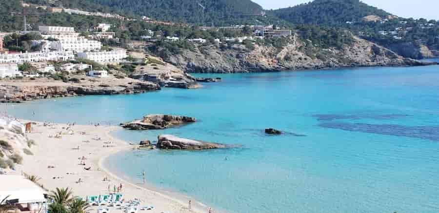 Yacht charter in Tarida Cove, Ibiza, Balearic Islands