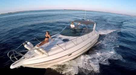 boat charter day ibiza
