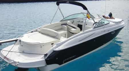 Fastboat charter Monterey 268 SC in Ibiza and Formentera
