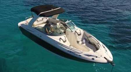 Fastboat charter Monterey 278 SS in Ibiza and Formentera