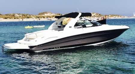 Alquiler de la lancha Sea Ray 290 SLX en Ibiza y Formentera