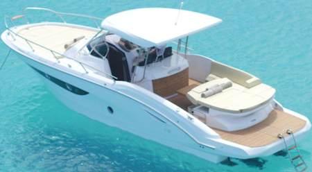 Alquiler de la lancha Sessa Key Largo 34 en Ibiza y Formentera