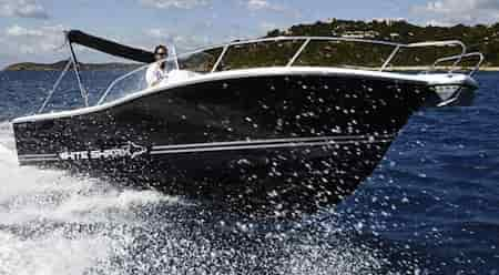 Fastboat charter White Shark 298 in Ibiza and Formentera