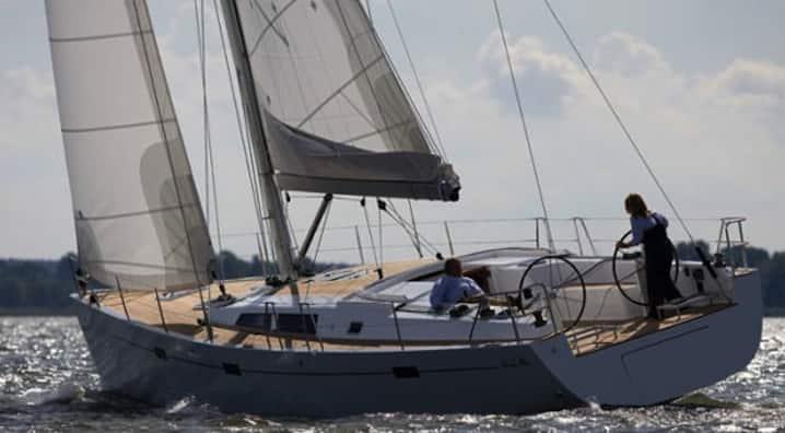 Alquiler del velero Hanse 470e en Ibiza y Formentera