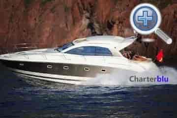 Ansicht Bootsvermietung Yacht Jeanneau Prestige 440S auf Gewässern von Ibiza und Formentera